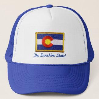 Sunshine state lid trucker hat