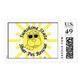 Sunshine State Shar Pei Rescue Logo Stamp