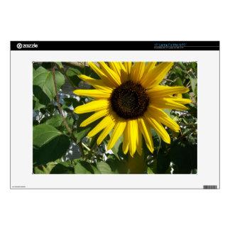 "Sunshine Sunflower 15"" Laptop Decal"