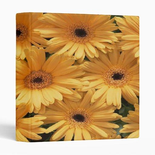 Sunshine Sunflowers ~ Avery Binder 1 EZD Touch