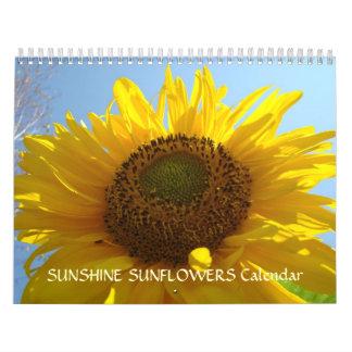 SUNSHINE SUNFLOWERS Calendar Holiday Gifts MOM