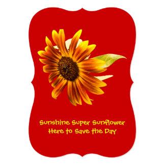 Sunshine Super Sunflower Card