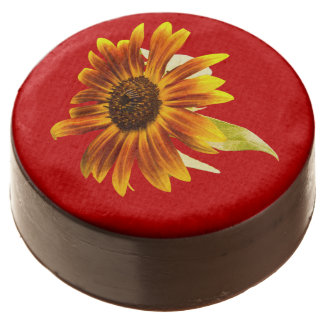 Sunshine Super Sunflower Chocolate Covered Oreo