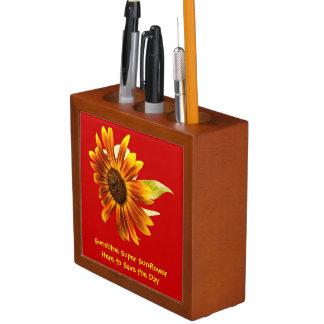Sunshine Super Sunflower Desk Organizer