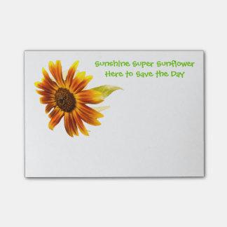 Sunshine Super Sunflower Post-it® Notes