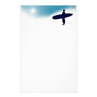 sunshine surfing stationery