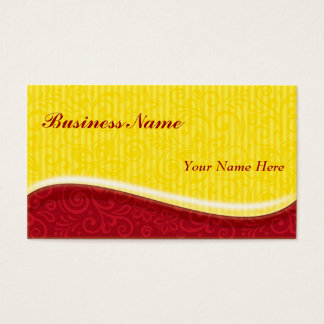 sunshine swirls business card