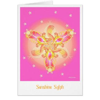 Sunshine-Sylph Greeting Card