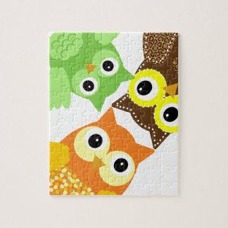 Sunshine the Adorable Owl Jigsaw Puzzle