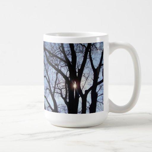 Sunshine Through Trees Mug