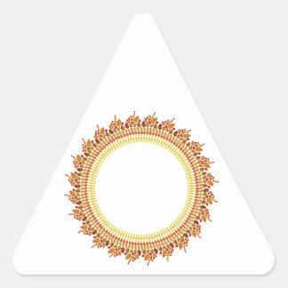 Sunshine Triangle Sticker