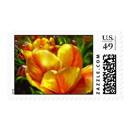 Sunshine Tulip postage