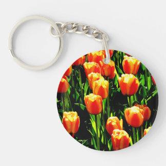 Sunshine Tulips Keychain