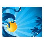 Sunshine & Waves Post Card