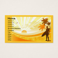 Sunshine_widescreen_vector-1920x1200, Name, Add... Business Card at Zazzle