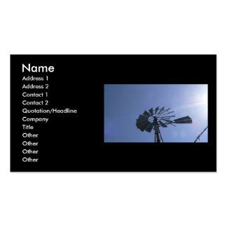 Sunshine Windmill Business Cards