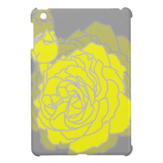 Sunshine Yellow Pop Art Roses for iPad Mini iPad Mini Cases