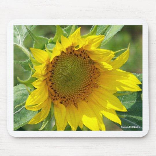 Sunshine Yellow Sunflower Mouse Pad
