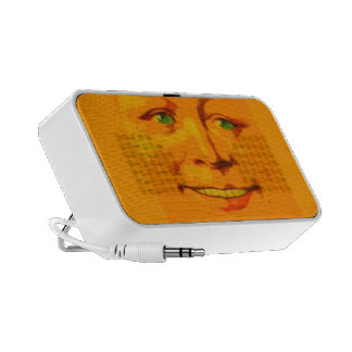 Sunshiny Happy Face Sings To You Keeps U Company Portable Speakers