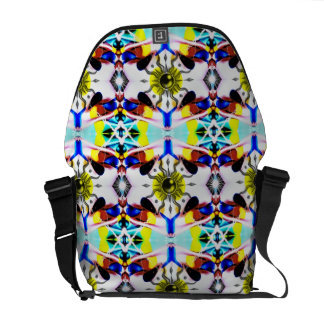 Sunship Pattern Courier Bags