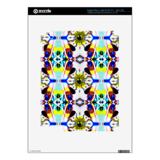 Sunship Pattern Skins For iPad 3