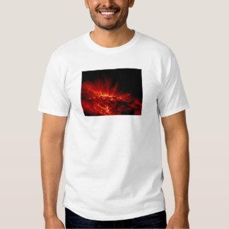 Sunspot loops in ultraviolet shirt
