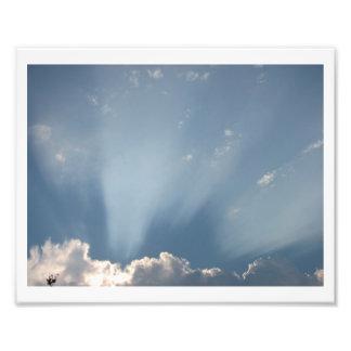 Sunspray Photo Print