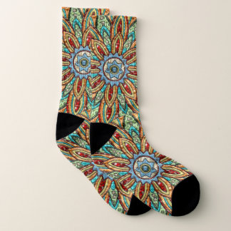 Sunstar Medallion Socks
