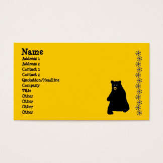 sunstencil, blackbear, Name, Address 1, Address... Business Card
