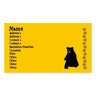 sunstencil blackbear nombre dirección 1 direcc plantillas de tarjetas personales