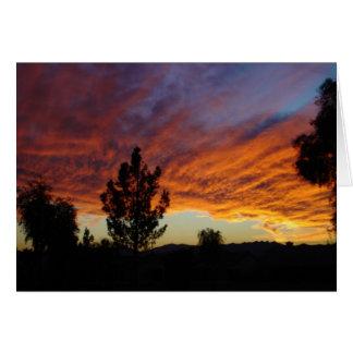 SunSuzi Designs - Arizona Sunset Greeting Card