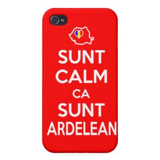 SUNT CALM CA SUNT ARDELEAN - iPhone 5 Case