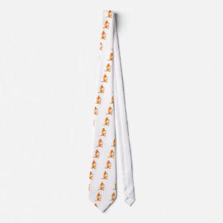 Suntan Lotion Neck Tie