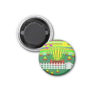 Suntime Farm Magnet Round 2x2 Magnets