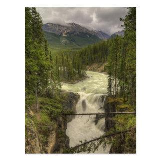 Sunwapta Falls Postcard