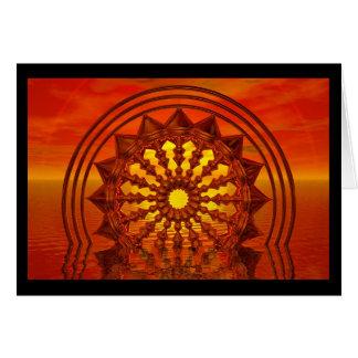 Sunwheel Card