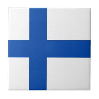 Suomen Lippu - la bandera de Finlandia Teja Ceramica