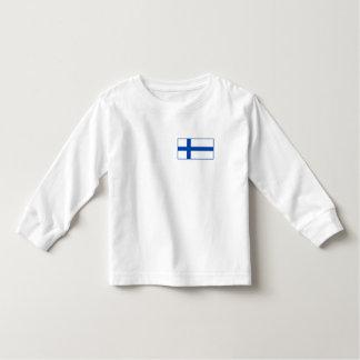 Suomen lippu paita - The Flag of Finland Toddler T-shirt