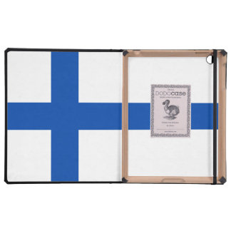 Suomen Lippu - The Flag of Finland Covers For iPad