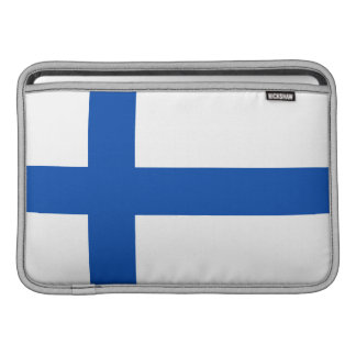 Suomen Lippu - The Flag of Finland Sleeve For MacBook Air