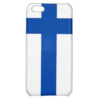 Suomen Lippu - The Flag of Finland iPhone 5C Covers