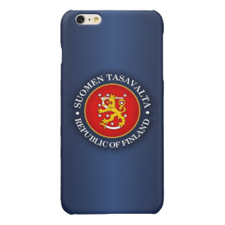 Suomen Vaakuna Glossy iPhone 6 Plus Case