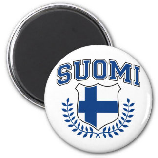 Suomi 2 Inch Round Magnet
