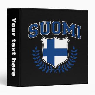Suomi 3 Ring Binder