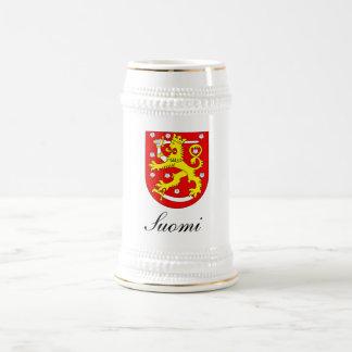 SUOMI (FINLAND) BEER STEIN