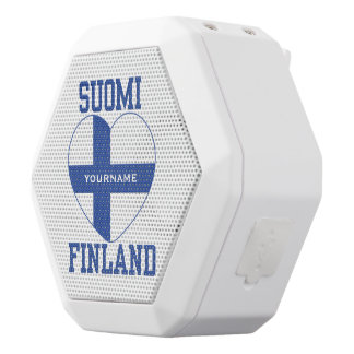 SUOMI FINLAND custom bluetooth speaker