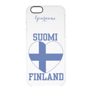 SUOMI FINLAND custom cases Uncommon Clearly™ Deflector iPhone 6 Case