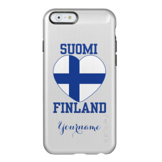 SUOMI FINLAND custom cases Incipio Feather® Shine iPhone 6 Case