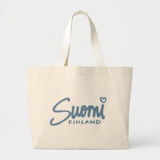 Suomi Finlandia 4 Bolsa Tela Grande