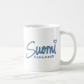Suomi Finlandia 4 Taza De Café